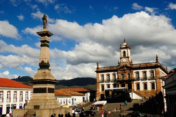 Praca Tiradentes - piata centrala